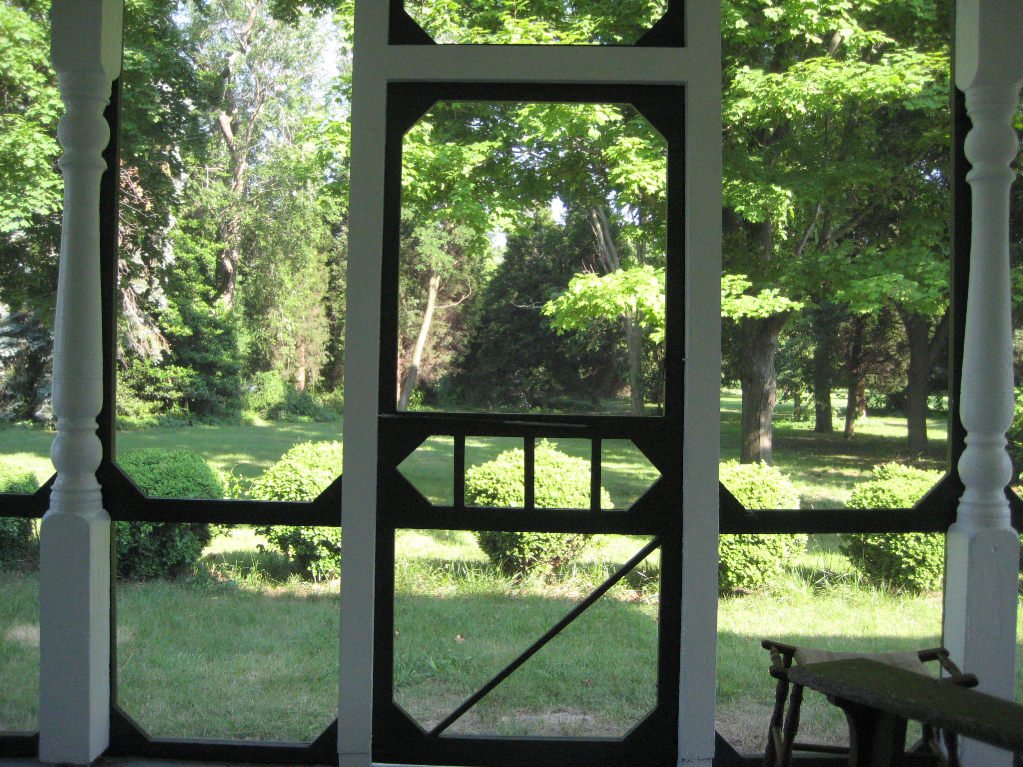 Porch screen