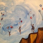 Regina Holliday's painting for the Families USA conference