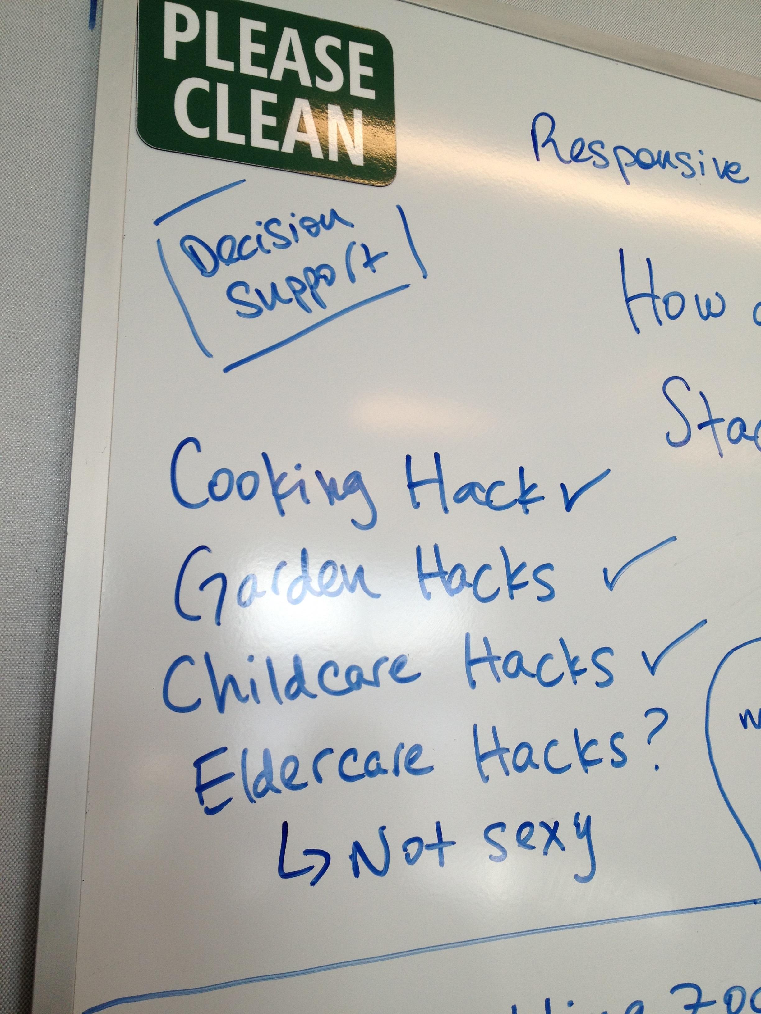 cooking garden childcare hacks why not eldercare hacks