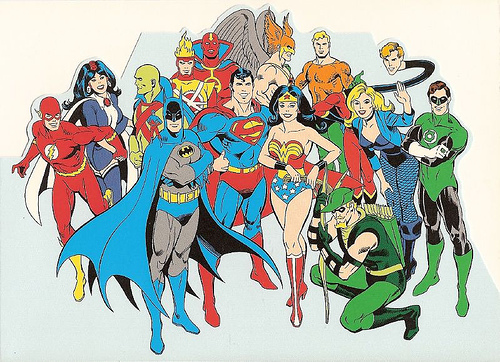 Justice League by roadkillbuddha on Flickr