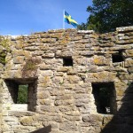 13th century wall surrounding Visby, on the island of Gotland, Sweden