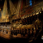 The Vasa, which sank on its maiden voyage in 1628