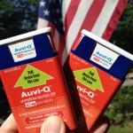 Two Auvi-Q epinephrine injectors - photo by Susannah Fox