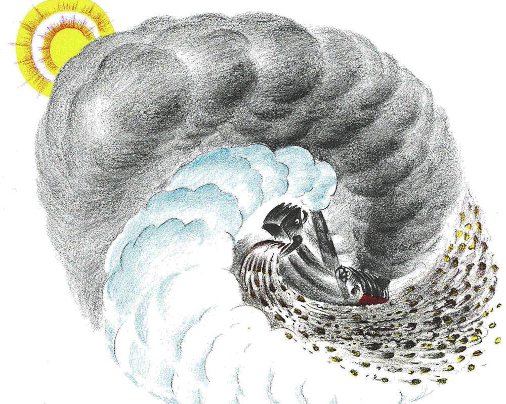 Illustration of Mary Anne the Steam Shovel