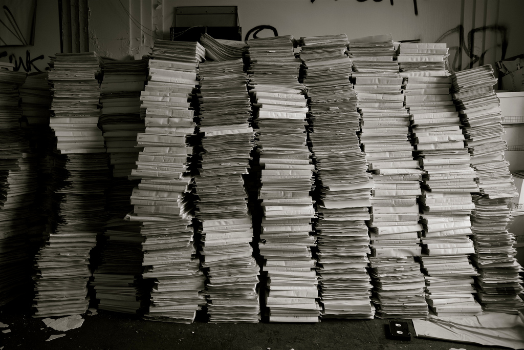 Patient Records by ken fager on flickr