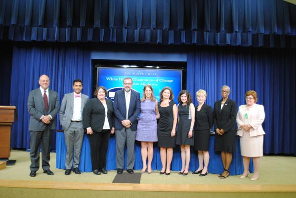 Secretary Burwell and 9 White House Champions of Change