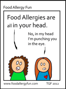 A deep dive into food allergy research and education