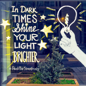 In Dark Times Shine Your Light Brighter